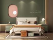 梓华轩 简美 卡慕斯系列 泰国入口橡胶木 安康环保 1.5*1.9m儿童床
