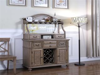 800#瑞德家居 系列 简美气概 实木框架  多功效酒柜