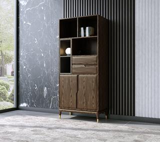 B804#瑞德家居  北欧乡村风格 白蜡木框架 高装饰柜