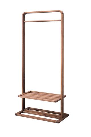 8866#瑞德家居 系列 北欧气概 全实木 鞋帽架/衣帽架