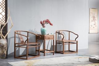 811#瑞德家居 系列 新中式气概 全实木   休闲椅