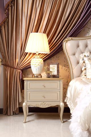 A01#瑞德家居  美式轻奢气概 卡斯楠木   床头柜