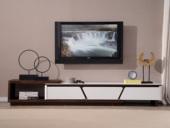 纳德威 优良烤漆古代客堂家具红色电视柜(不含边柜)
