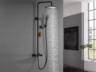 【包邮 快递抵家(偏僻地域除外)】淋浴器套装带置物架 银色