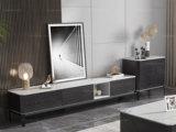 卡罗亚 极简风格 2.0米 防刮耐磨 实木+岩板 电视柜(不含斗柜)