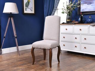 北美进口黄杨 嘉宝莉环保漆 简美风格 安娜贝尔餐椅