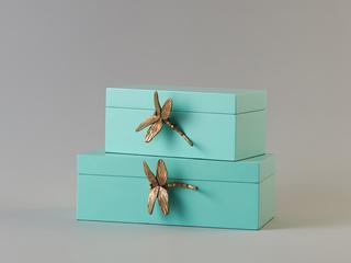 轻奢木质首饰盒 B款