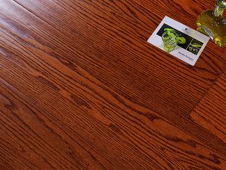 实木仿古红橡实木地板