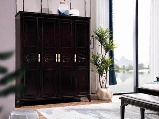 新中式系列四门衣柜