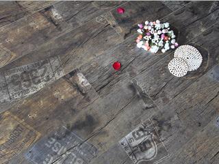 北欧 复合强化地板 麻面 冷色系列 环保地板