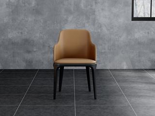 意式极简餐椅 H1060咖啡餐椅