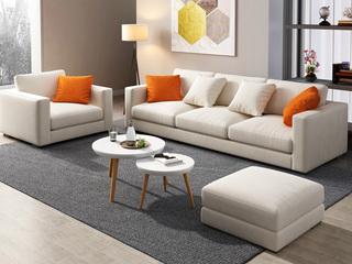 现代X1709 布艺沙发  单人沙发
