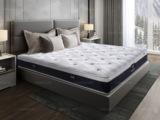 吉斯贵族 伯爵A款 护椎环保椰棕床垫 两面使用床垫 纳米竹炭面棉 1.8*2.0米可定制床垫