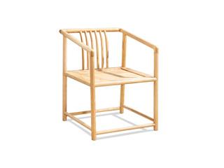 中式风格 北美进口白蜡木椅子