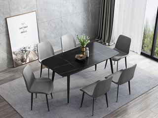 极简风格  优质皮艺 软包餐椅