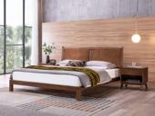源木时光 北欧风格 北美进口白蜡木 1.8*2.0米床