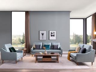 北欧风格  科技布沙发 沙发组合(1+2+3)