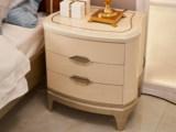 美克世家 简美风格 北美进口榉木坚固框架 床头柜