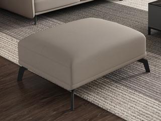 极简 乳胶科技布沙发 自由搭配组合 小户挚爱 柔软舒适 不拆洗结构 卡其色 脚踏 沙发