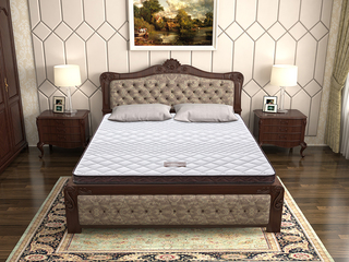 ·酷睡酷睡宝6cm 1.5*1.9 天然椰棕透气双面床垫 针织面料柔软亲肤床垫