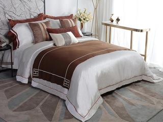 乔伊斯 床品四件套(含1对枕套、1条被套、1条床单)(不含芯)