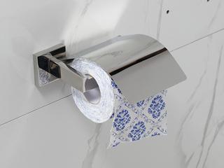 【包邮 快递到家(偏远地区除外)】 玛莎系列304不锈钢卫浴挂件 浴室卷纸厕纸架 纸巾置物架 71505