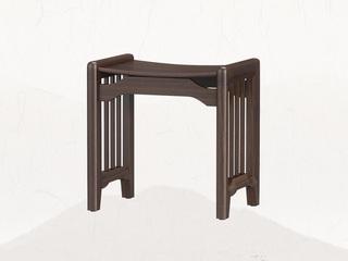 新中式 乌金木 JRZS-1002-妆凳