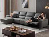 芝华仕 头等舱 意式风格 转角 功能 反向曲面 电动沙发(此款不含抱枕)