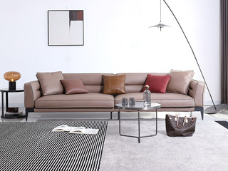 极简风格 科技布面料 俄罗斯进口落叶松框架 四人位 乳胶沙发