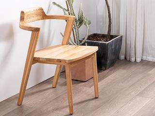 北欧风格 北美进口白蜡木原木色 书椅