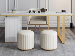 轻奢风格 防刮耐磨 岩板台面  环保实用 长1.8米茶台